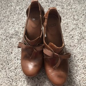 Ugg heels. Never worn. Woman's 9